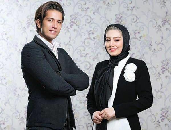 سحر قریشی و همسرش