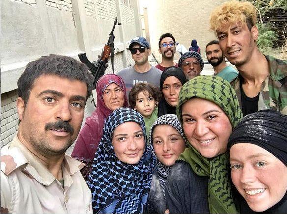ارسطوی پایتخت و همسرش در کنار نسرین نصرتی و شوهرش + تصاویر