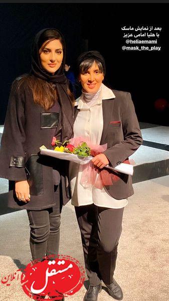 هلیا امامی در تئاتر خانم بازیگر + عکس