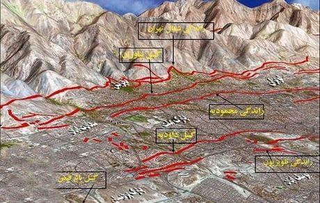 زلزله بزرگ چه زمان و در کجای تهران؟