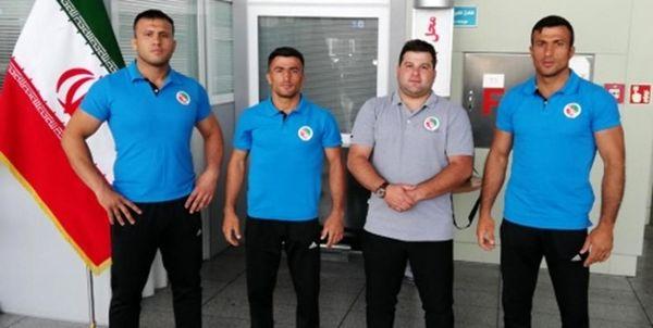اعزام تیم قزاق کورس ایران به رقابت های آسیایی مغولستان