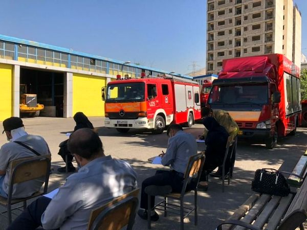 برگزاری آزمون اصول ایمنی و آتش نشانی ویژه کارکنان شهروند