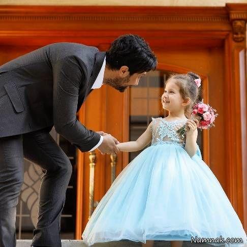 شاهرخ استخری و پناه دخترش