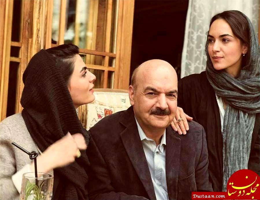 بیوگرافی و عکس های ایرج طهماسب ، همسرش مرجان مدرسی و دخترانش یاسمن و گلنار