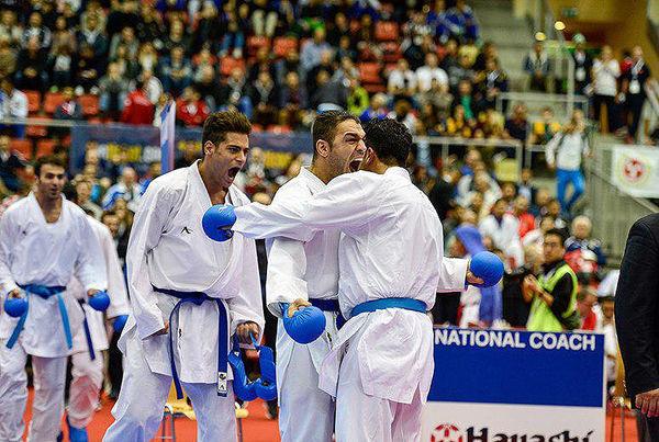 کاراته ایران بهترین تیم جهان در سال ۲۰۱۹ شد