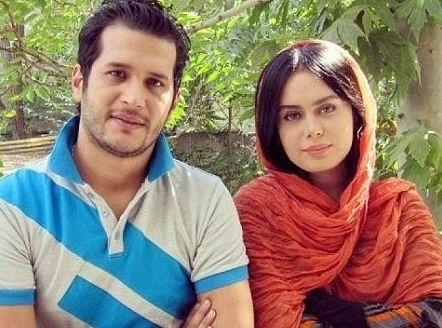 عکسهای جنجالی سیاوش خیرابی و همسرش + تصاویر