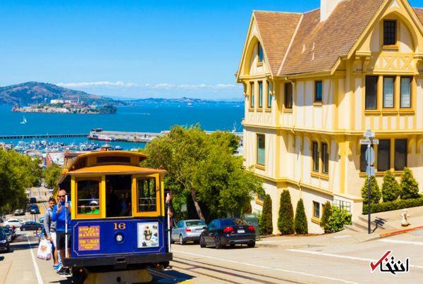 سانفرانسیسکو و اجاره های بالا + عکس