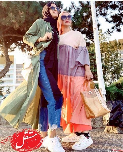 الهه حصاری و دوست ژورنالیش + عکس