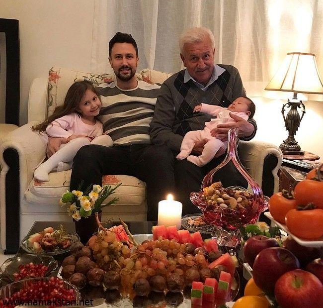 عکس جدید شاهرخ استخری و پدرش