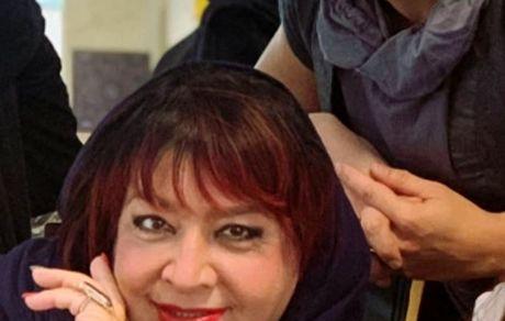 ایمان اشراقی و مادرش + عکس