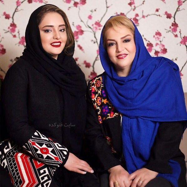 عکس های نرگس محمدی و مادرش