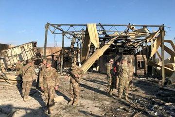 عین الاسد پس از حمله موشکی سپاه
