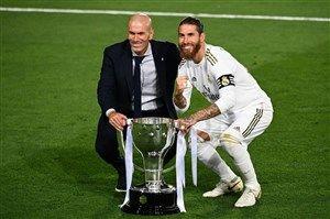 جذاب ترین چهره قهرمانی رئال مادرید + عکس