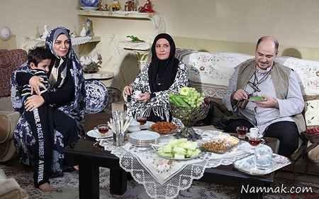 الهام پاوه نژاد در سریال یلدا