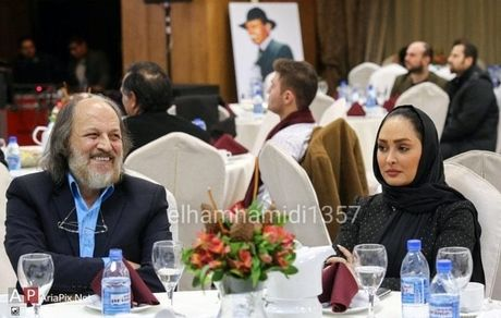 الهام حمیدی و امین تارخ در یک مراسم + عکس