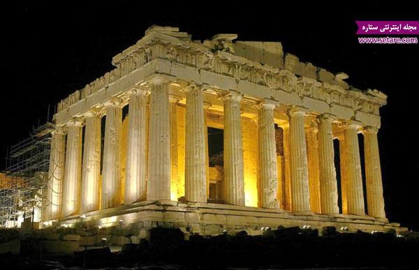 آکروپلیس، یونان، آتن، دژ تاریخی، پارتنون