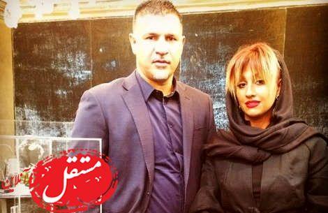 مهریه جنجالی همسر علی دایی لو رفت + عکس