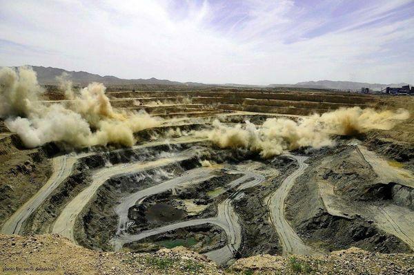 آزمایش موفقیتآمیز عملیات نوینِ آتشباری در معدن شماره دو گلگهر