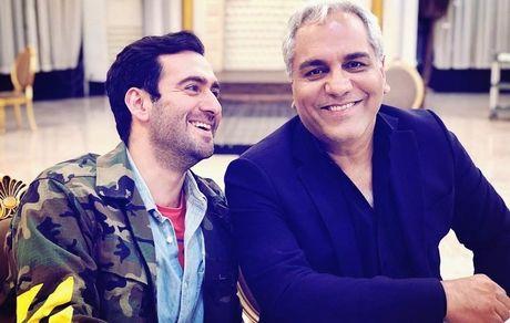 مهران مدیری و پسر خلافکارش! + عکس