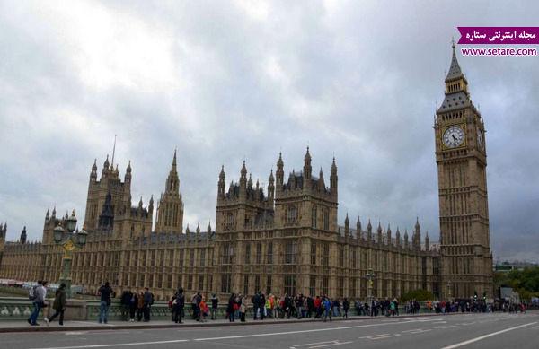 کاخ وست مینسر، لندن، انگلستان، ملکه الیزابت دوم، برج الیزابت