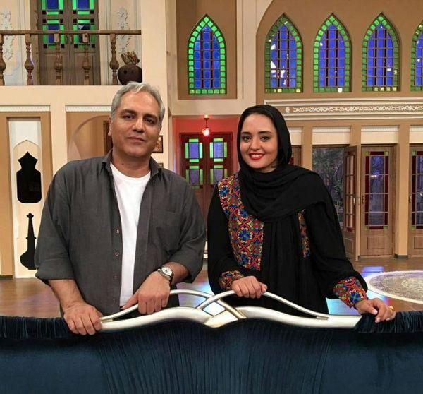 حمله تند مهران مدیری به نرگس محمدی  + فیلم و عکس