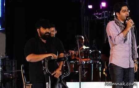 فرزاد حسنی در کنسرت رضا صادقی