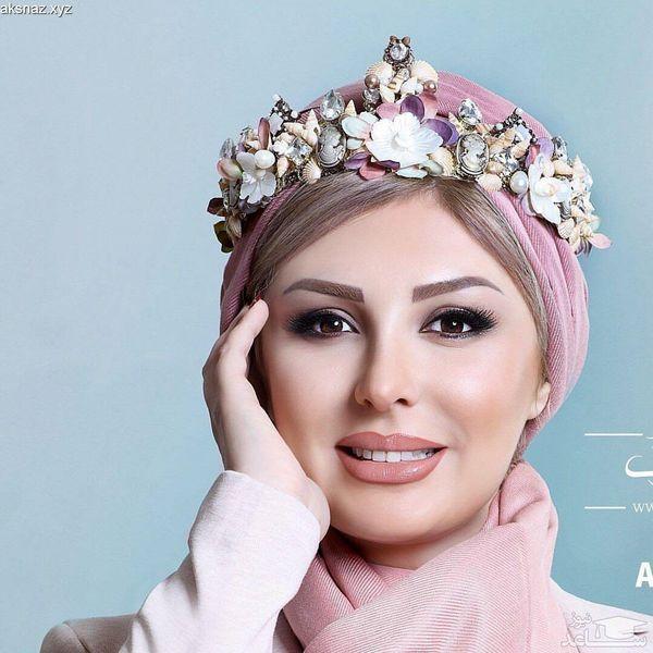 نیوشاضیغمی جنجال عکس لورفته در آغوش همسرش +عکس و بیوگرافی