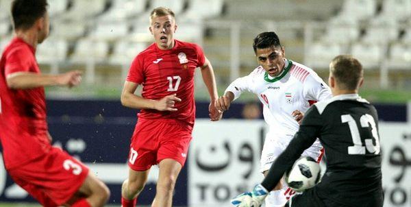 قاسمپور: مقابل امارات خودمان را از پیش برنده ندانیم