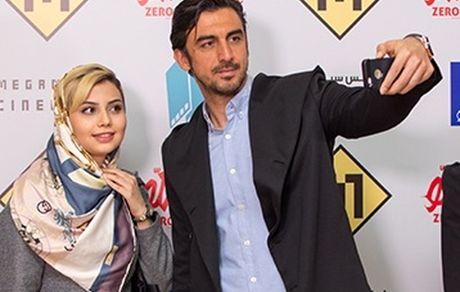 عکس لورفته مهدی رحمتی در بغل زن نیمه برهنه + عکس و بیوگرافی