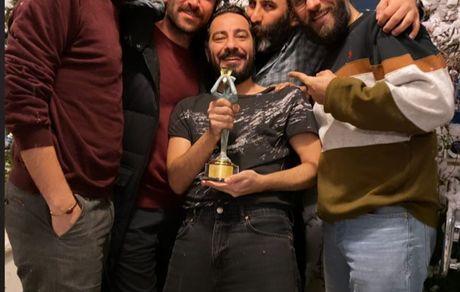 جایزه نوید محمدزاده و دوستانش + عکس