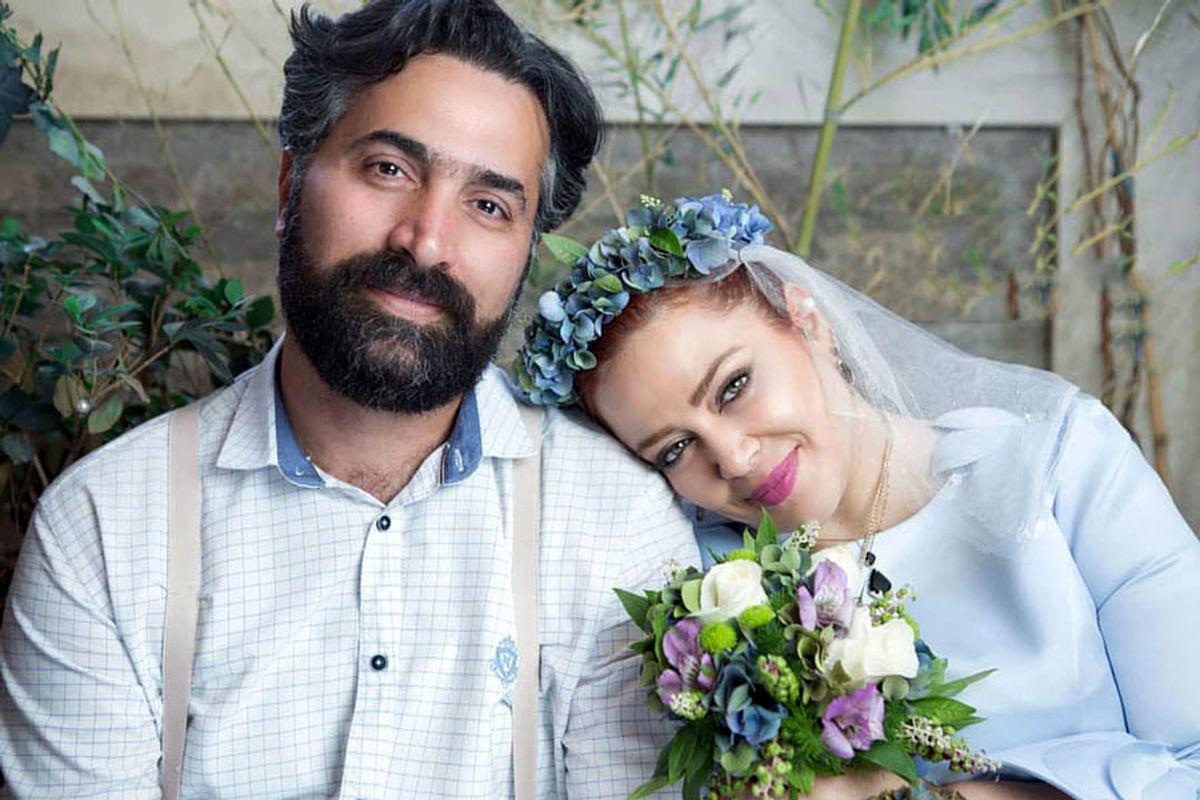 بهاره رهنما و همسرش در مراسم عقد + بیوگرافی و تصاویر