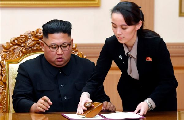 """رهبر کره شمالی اختیاراتش را به خواهرش """"واگذار"""" کرد"""