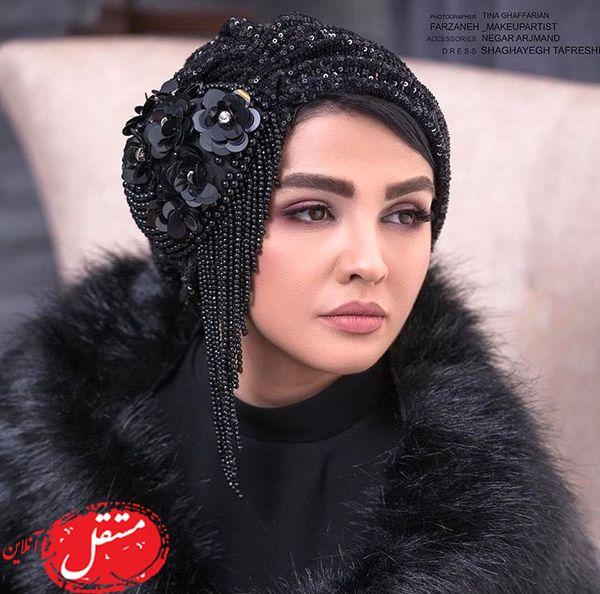 مدلینگ شدن بازیگر سریال پناه آخر با حجابی متفاوت + عکس