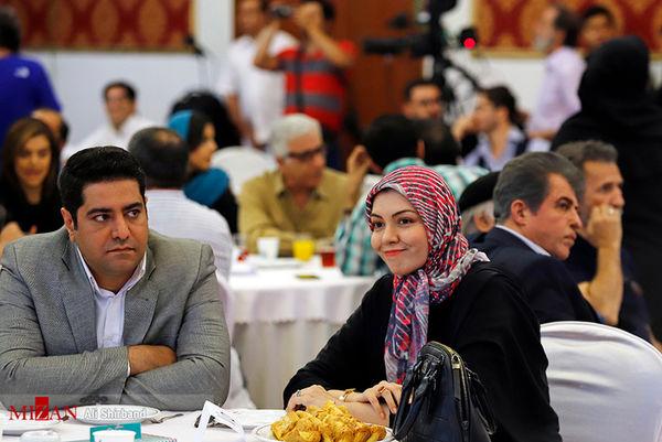 خانم مجری جنجالی و همسر دومش در هتل + عکس