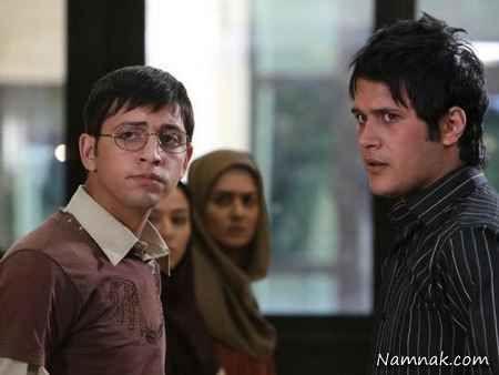 محسن افشانی و سیاوش خیرابی در سریال ترانه مادری