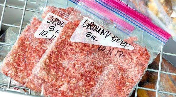 مدت نگهداری گوشت ها در فریزر