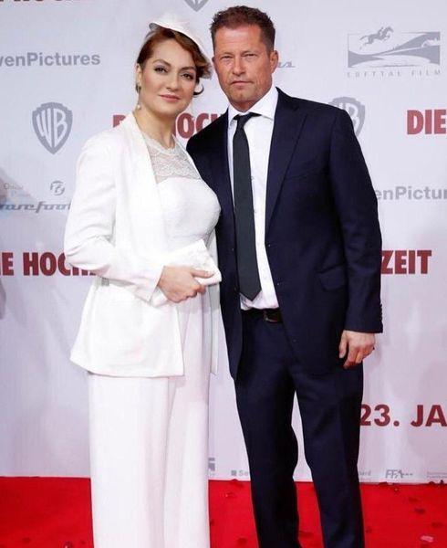 مهناز افشار  جنجال عکس در آغوش بازیگر آلمانی + فیلم و عکس