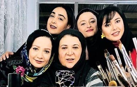 بازیگران پایتخت 6  در اتاق گریم + عکس