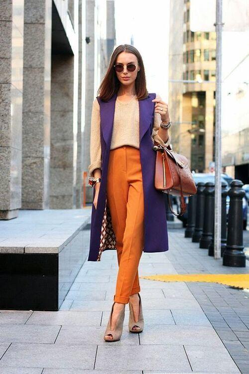ست رنگ نارنجی شیک و خاص