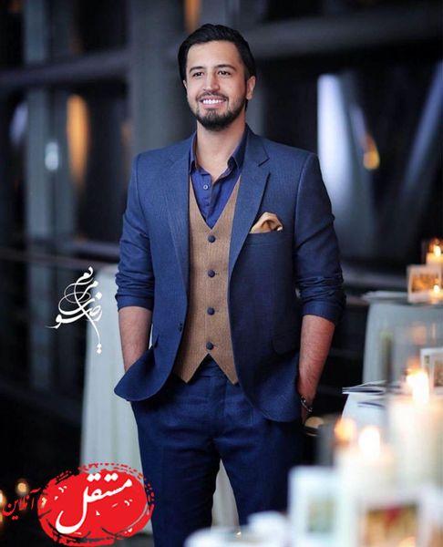 استایل شیک و رسمی مهرداد صدیقیان + عکس