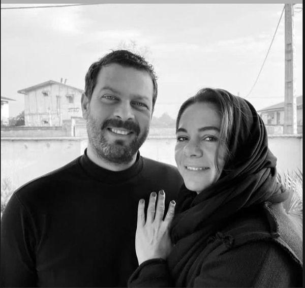 تبریک تولد عاشقانه پژمان بازغی به همسرش + عکس