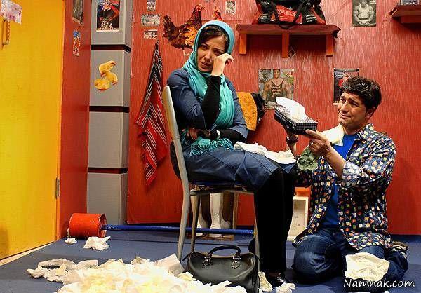 لیلا اوتادی و مجید صالحی