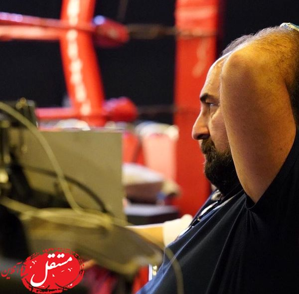 مهران احمدی در حال استراحت + عکس