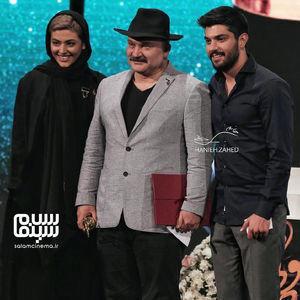 ریحانه پارسا،سینا مهراد و مهدی سلطانی در هجدهمین جشن حافظ