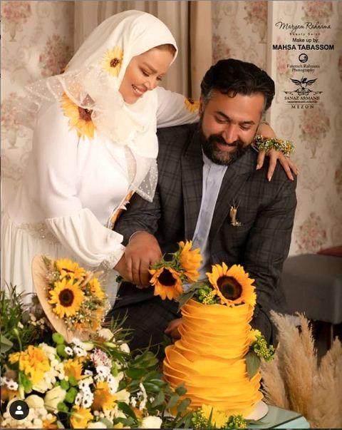 سالگرد ازدواج بهاره رهنما و امیرخسرو عباسی