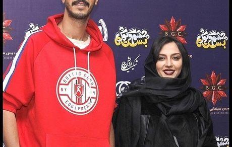 بهرام افشاری در کنار همسر بازیگر مشهور + عکس