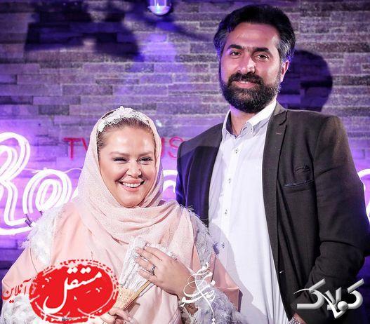 تیپ لاکچری بهاره رهنما در جشن تولد همسر دومش + تصاویر