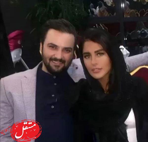 نوه آقا حشمت و همسرش + عکس