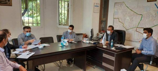 برگزاری کارگروه امور شعب منطقه ۵