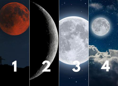 تست شخصیت شناسی از روی تصویر ماه